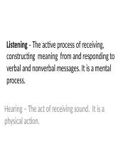 Listening+–+The+active+process+of+receiving,+(2)