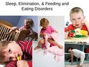 Sleep Elimination and Eating Disorders Powerpoint