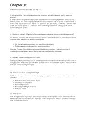 Chapter 12 Discussion Questions Supply Chain Mgmt.edited.docx