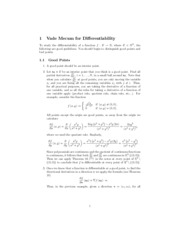 differentiability guide