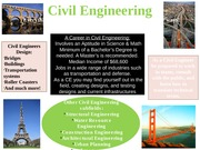 3 engineering disciplines flyers