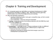 Chapter 6-Training and Development(1)