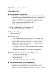 307 Quiz 2 Classroom material study guide