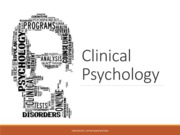 intro to Clinical Psychology