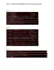 LAB_8_Cracking Linux Passwords