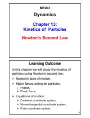 Chapter 13 - Kinetics of Particles-Newton's Second Law_V01