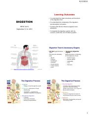 HESC4213-F13_Chapter 2-Digestion