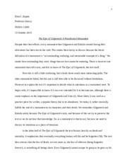gilgamesh essays bible