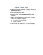 Symbolic Learning Theory