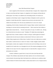 the sound and the fury literary criticism essay Rereading faulkner: authority, criticism, and the sound and the fury stacy burton university of nevada, reno once the author is.