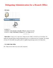 06 Delegating Administration for a Branch Office.docx