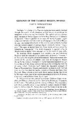 Part I_Geology of the Tampico Region,Mexico