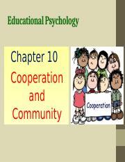 Chapter 10 Cooperation and Community.pptx