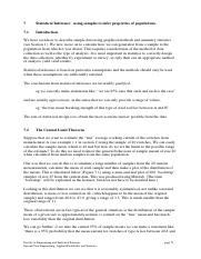 Section 7 - Statistical Inference(1)