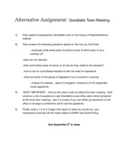 Alternative Assignment-goodlatte F10