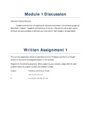 SOFTWARE ENGINEERING assignments