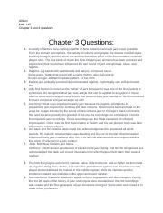 MHL-chapter 3/4 questions