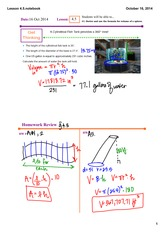 sphere volume notes
