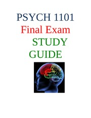 psyc 100 study guide exam 1