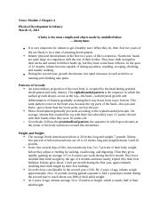 Notes Lifespan Development Chapter 4.docx