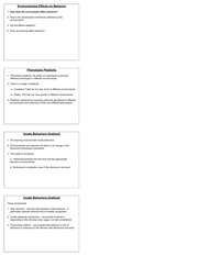 Lecture 5 Learning and behavior 4 slides per page