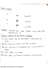 Linguistics of Arabic and English