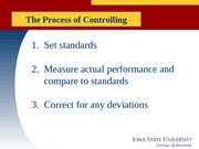 MGMT 370 -  Lecture 10 control