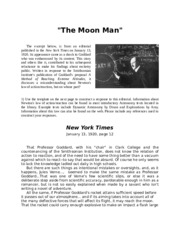 The Man on the Moon Analysis