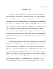 godfather and winters bone essay