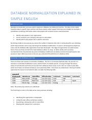 Database Normalization Explained in Simple English.pdf