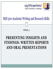 RES_500_-_W04_-_Presenting_Insights_and_Findings_WrittenReports_Oral_Presentations_rev (2)