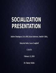 Socialization Presentation outline.ppt