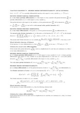Handout 9 on Higher Order Differentiability and Local Extrema