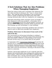 4 Tech Solutions That Are Also Problems When Managing Employees.docx