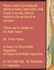 Introductory Finance