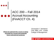 #04 FinCh4 MOODLE ACC200 Accrual Accounting  - Fall 2014