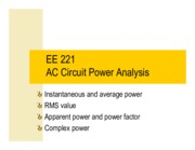power in ac circutes