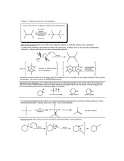Alkene Synthesis notes