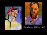 Fauvism and Cubism for posting