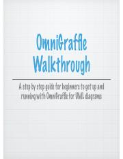 OmniGraffle Walkthrough