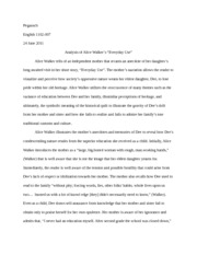 Everyday Use Agruement Essay   Purdy Composition  The Hidden   Pages Essay  Analysis Of Everyday Use Sample Essay With Thesis Statement also Argument Essay Thesis Statement  Examples Of Persuasive Essays For High School