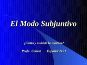 Spanish exam 3_Powerpoint