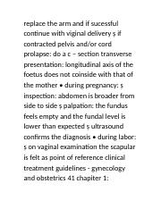 B Study For OBGYN (Page 610-612)