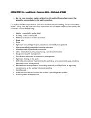 Auditing 2 - assignment 2.doc
