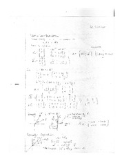 math 267 notes on linear transform