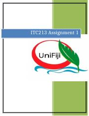 Assignment 1 for ITC213.docx