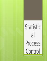 Handout Topic 4 Statistical Process Control