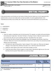 1.1.3 Journal- Write Your Own Narrative of the Modern Era.pdf