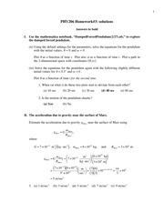 hw 3 solutions