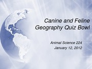 2012-01-12 Geography quiz show